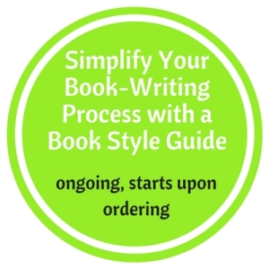Book Style Guide Circle