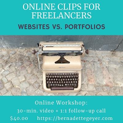 Online Clips for Freelancers Workshop Sm